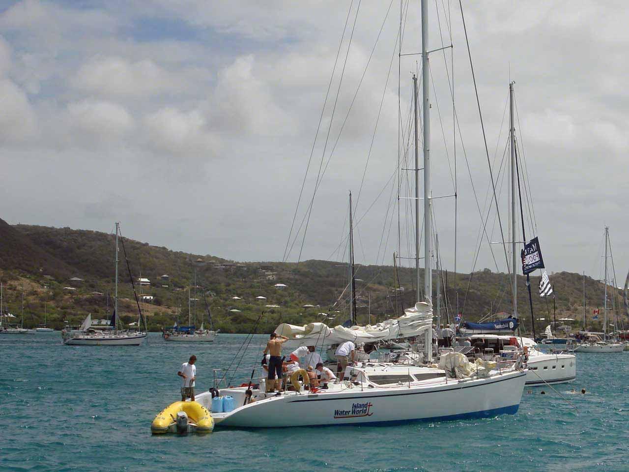 Antigua And Barbuda Country Page Pics Photos Bridge Parts Diagram Jobspapa Prepping A Race Week Boat