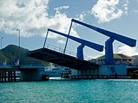 Sint Maarten Drawbridge