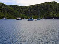 Yachts in the Bight