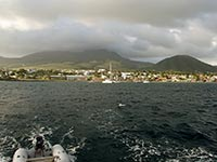 Basseterre on St. Kitts