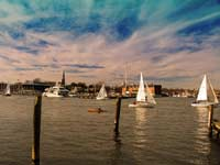 Winter sail in Annapolis