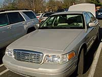 Crown Victoria rental