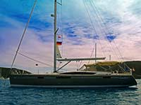 At anchor in the BVI