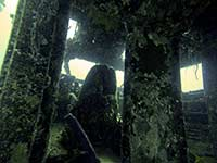 Cockpit of Coral Gardens wreck