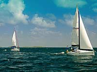 Moorings charter racing