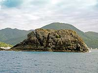 Creole Rock in Grand Case