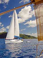 Passing a Sunsail yachts