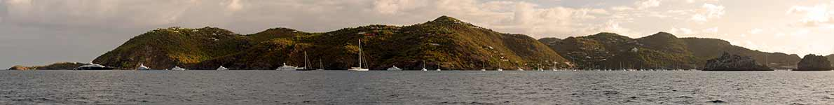St. Barths panorama