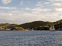 Outside Gustavia anchorage