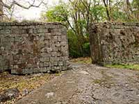 Fort Shirley waterside gate
