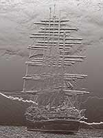 Royal Clipper bas-relief