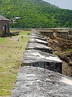 Fort Berkeley outer fortification