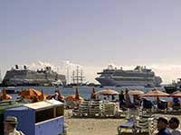 Philipsburg cruise ships