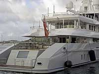 Aft deck of Axioma