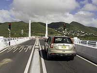 St. Martin Causeway Bridge about to open