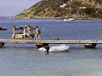 Grand Case Dinghy Dock