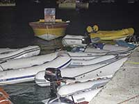 Dinghies at Grand Case