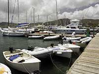 Falmouth dinghy dock