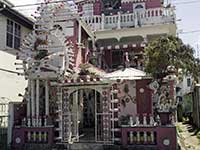 White and Pink house