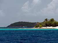 Passing Sandy Cay