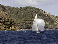 Antigua Sailing Week - Sail Number  ANT 6