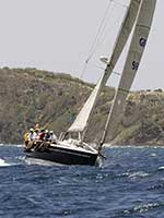 Antigua Sailing Week - Sail Number GBR 9684T