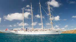 Star Clipper in the BVI
