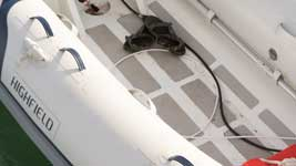 Soot in the dinghy