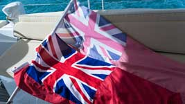 New and Old ensign