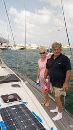 Marie and Andy of Five Start Yachring