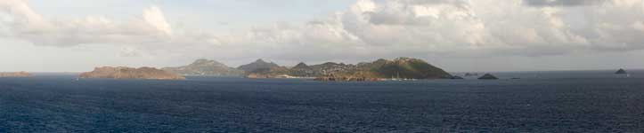 Panorama of St. Barths