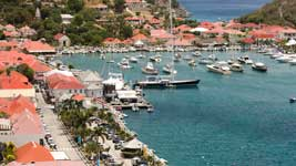 Gustavia empty due to races