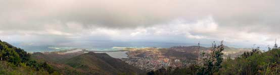 St. Martin Panorama from Pic Paradis