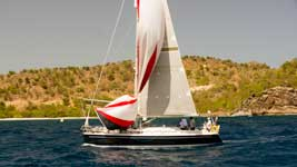 Sail GBR 9685T - Spirit of Neptune