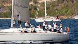 Sail GBR 9051T - Spirit of Athena / The Sirens