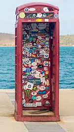 Leverick Phone booth