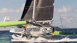 Phaedo 3 racing
