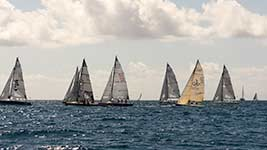 Racers at the Heineken Regatta