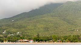 Pinney's beach and Nevis