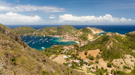 Iles des Saintes town of Le Bourg