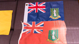 BVI Flags