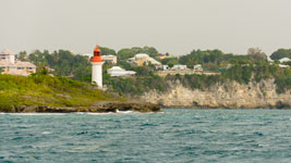 Ilet Gosier lighthouse