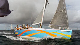 El Ocase at the Around the Island Race start