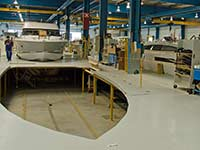 Jeanneau powerboat production
