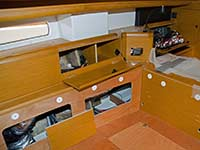 Hull 68 - Salon construction work