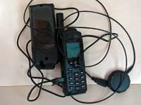 Handheld Iridium phone