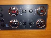 Volts and Amps gauges