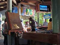 Myett's bar in Cane Garden Bay