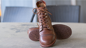 Red Wing Iron Rangers after 1500 miles