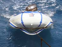 This dinghy is falling apart